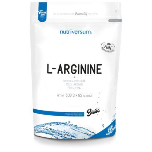 L-arginine - 500g - BASIC - Nutriversum