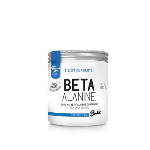 Beta-Alanine - 200 g - BASIC - Nutriversum