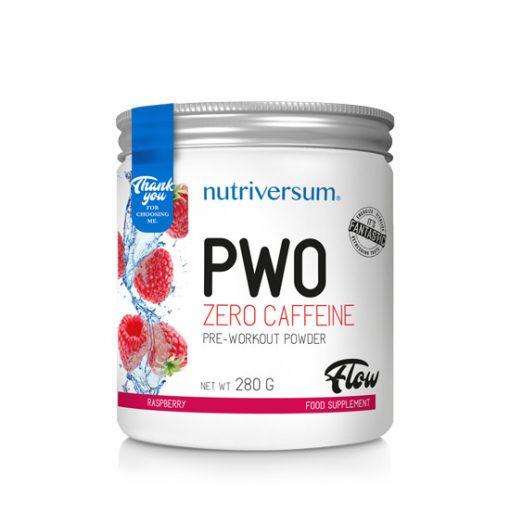 PWO zero caffeine - 280g - FLOW - Nutriversum