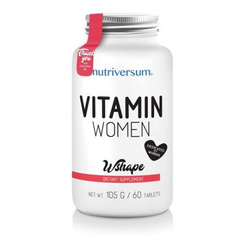 Nutriversum Wshape Women Vitamin 60caps