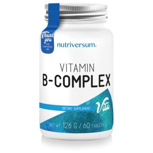 Nutriversum Vita B-Complex 60 tablets