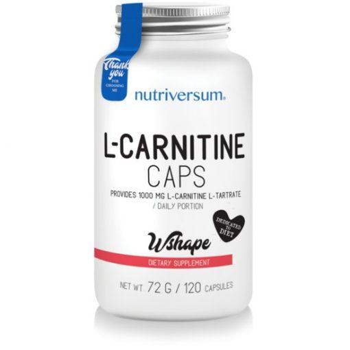 Nutriversum Wshape L-Carnitine 120 caps