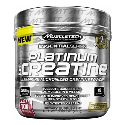 Muscle Tech Platinum 100% Creatine 400g