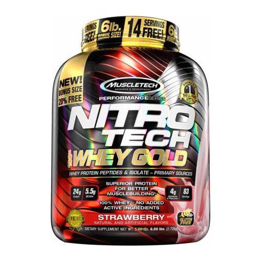 Muscle Tech Nitro Tech 100% Whey Gold