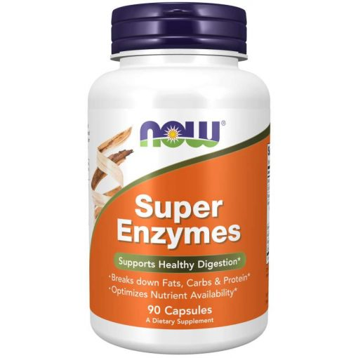 NOW Sports Super Enzymes 90 Tablets