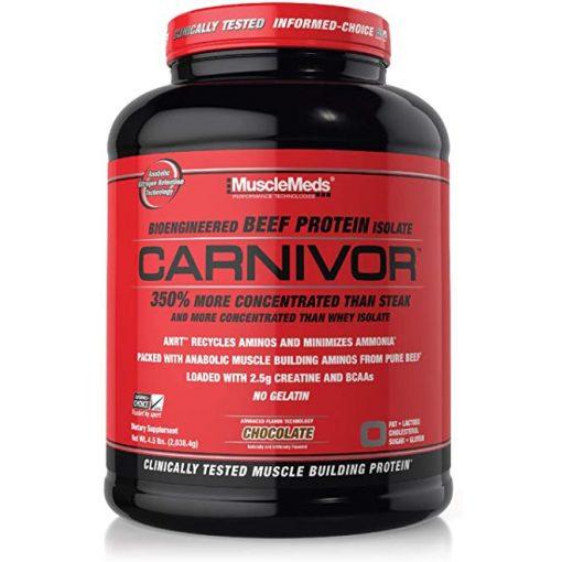 MuscleMeds Carnivor  Beef Protein Isolatum