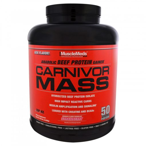 MuscleMeds, Carnivor Mass Beef Protein Isolátum